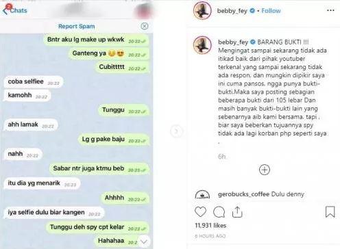 Bukti Screenshoot Chattingan