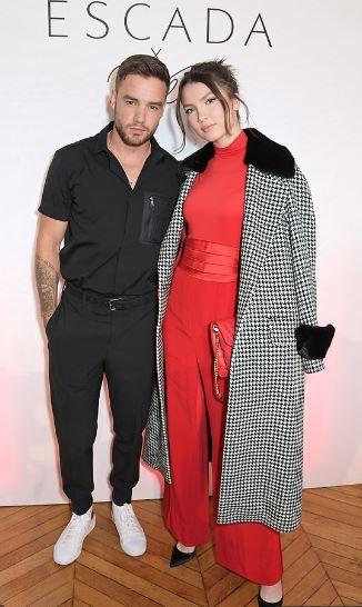 Liam Payne dan Maya Henry di Paris Fashion Week