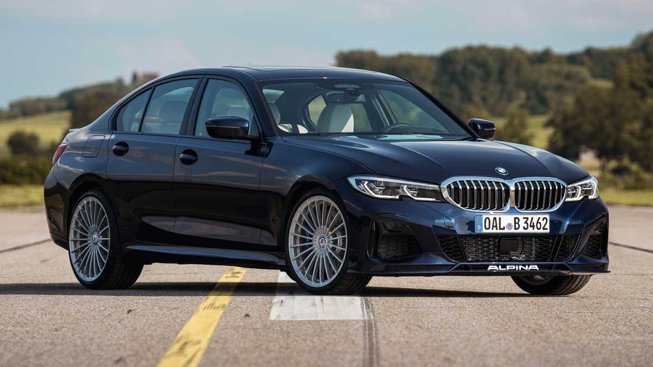 Alpina B3 Sedan, Basis BMW Seri-3 dengan Top Speed 188 Mph