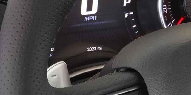 Dodge Challenger Odometer