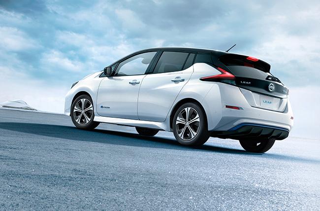 Nissan Leaf 2020 BACK VIEW
