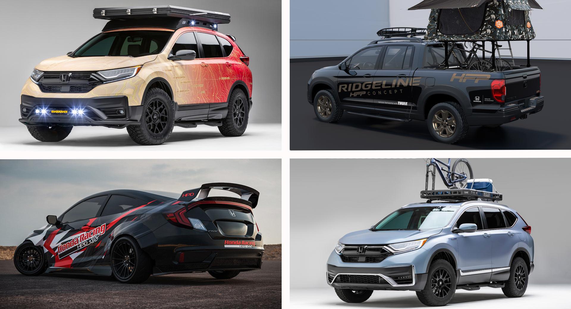 Honda Membawa Jajaran Mobil Kerennya untuk SEMA di USA