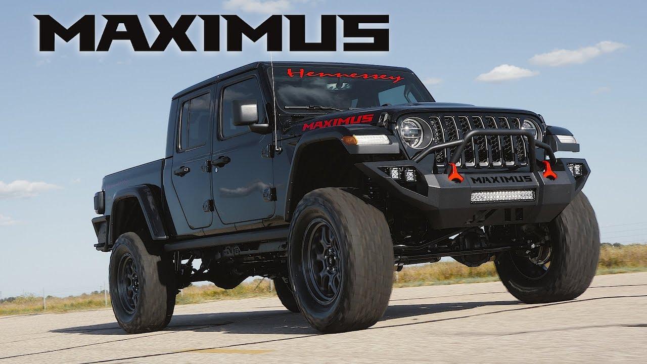 Hennessey Maximus, Jeep Gladiator 1.000 HP dari Neraka