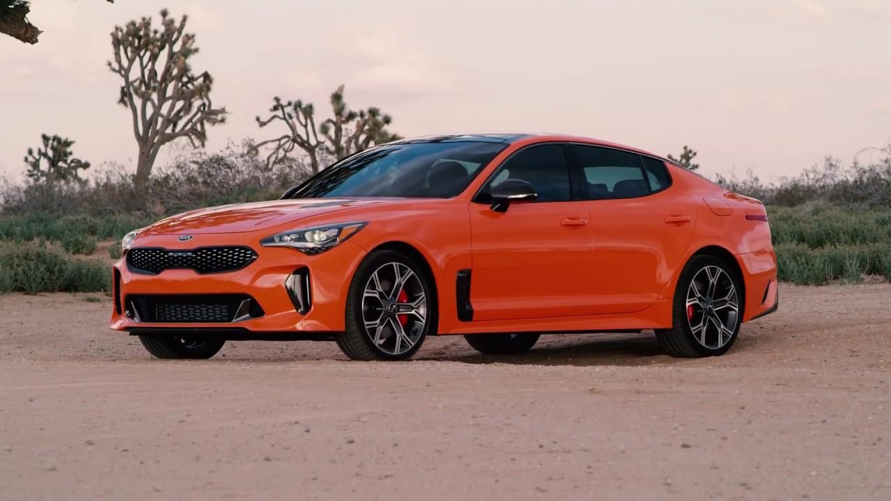 Kia Stinger GTS 2019, Tawaran Performa dengan Cat Oranye