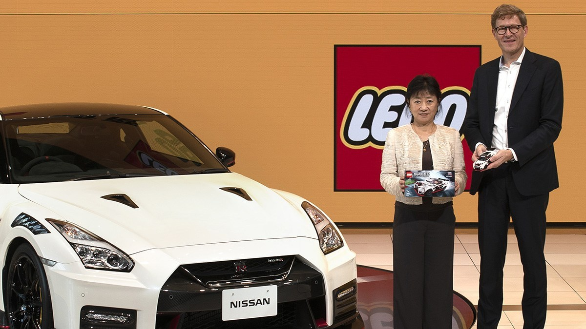 Nissan GT-R NISMO Mendapat Sentuhan dari Lego-Brick