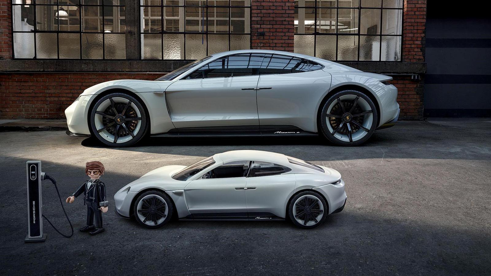 Porsche Taycan Concept akan Tampil di Film Playmobil Toys