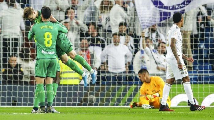 Real Madrid Yang Terlambat Comeback Dikalahkan Real Sociedad