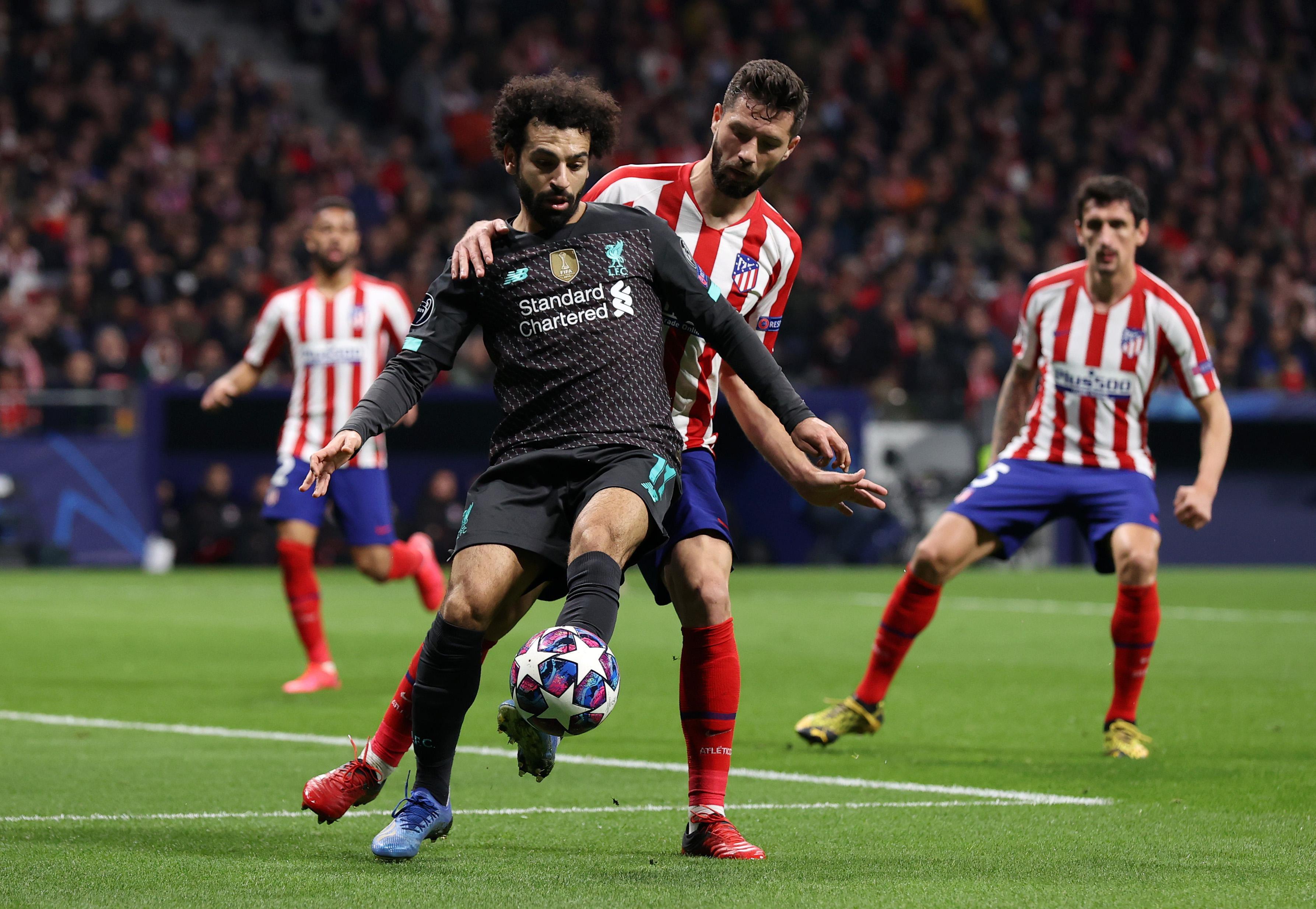Melawan Liverpool, Atletico Bertahan Sangat Luar Biasa