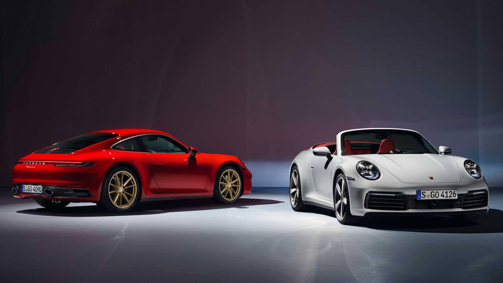 Porsche 911 Mobil Sport Enam Gambar yang Layak Dibeli