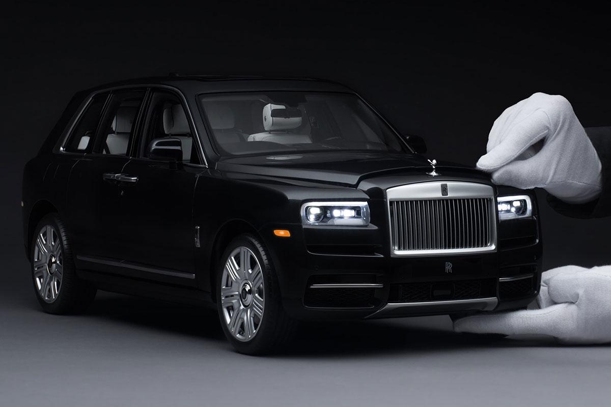 Rolls-Royce Perlihatkan Model Cullinan Berskala 1 - 8