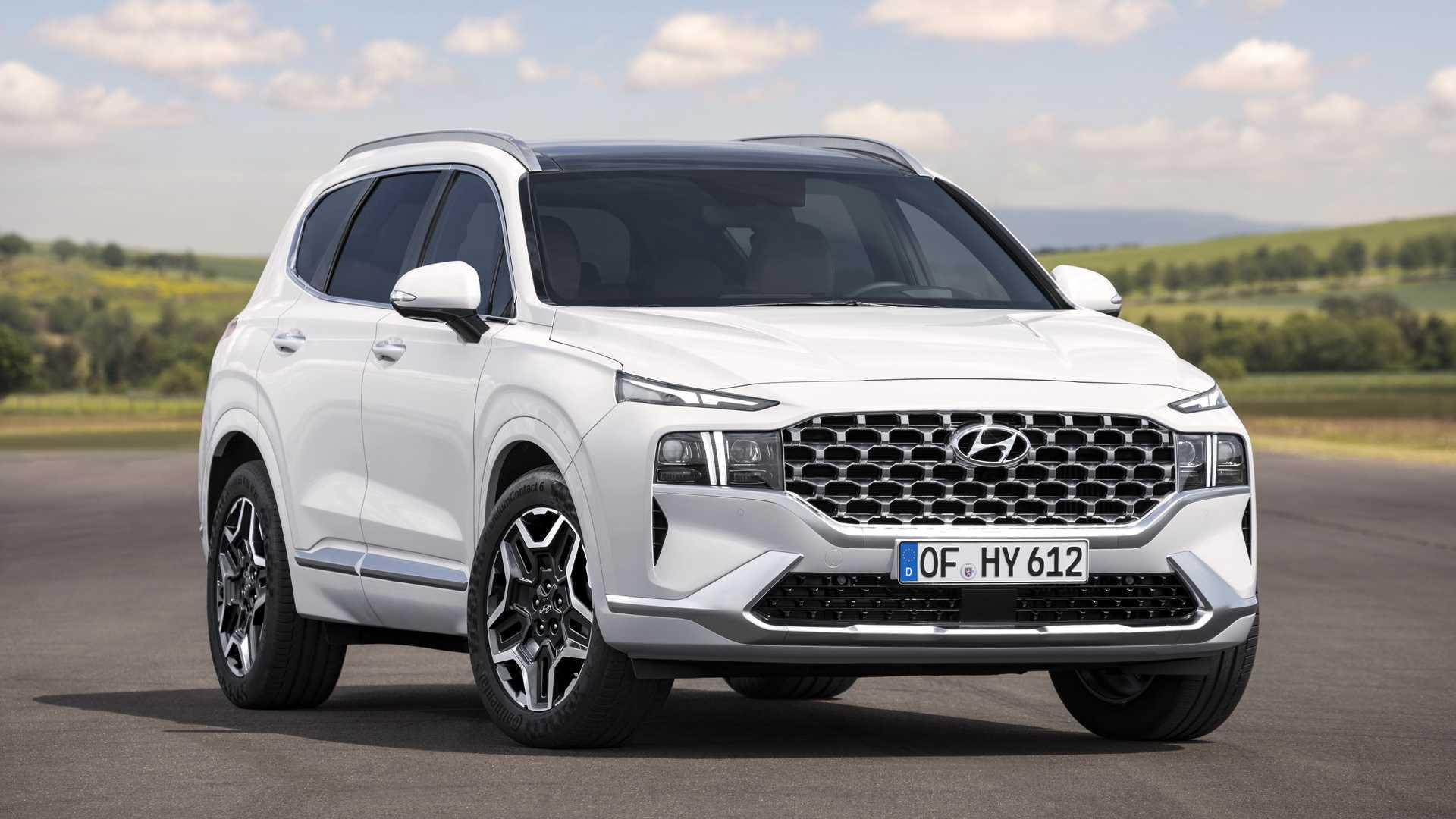 Hyundai Santa Fe Tunjukkan Wajah Baru Dan Interior Baru