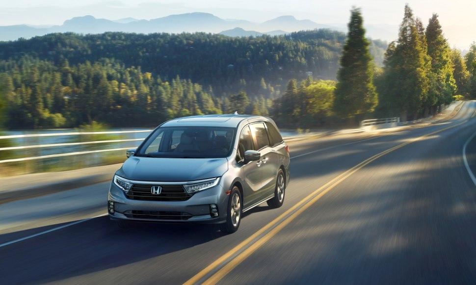 Honda Odyssey 2021 Dengan Wajah Baru Dibanderol 33,000 USD